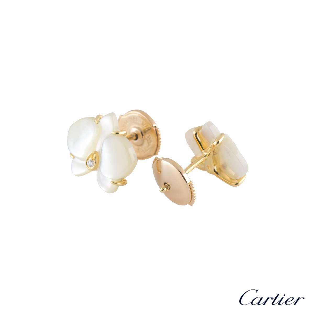 5a0c528ab5d63 Cartier Caresse Earrings